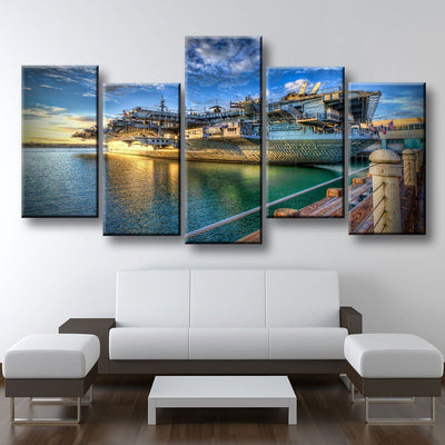 USS Midway In San Diego - Amazing Canvas Prints