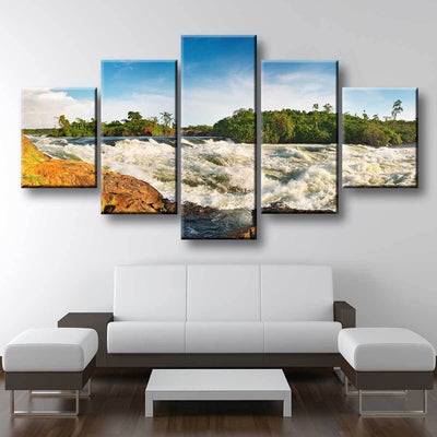 White Water Rapids - Amazing Canvas Prints