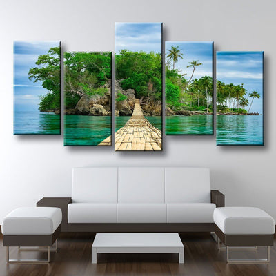 Walkway To Paradise - Amazing Canvas Prints