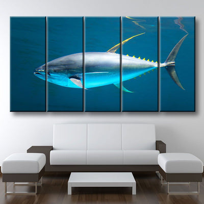 Yellowfin Tuna - Amazing Canvas Prints