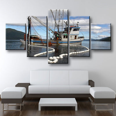 Trawler Fishing Boat - Amazing Canvas Prints
