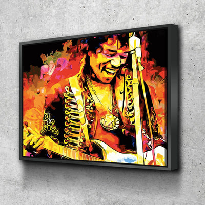 Jimi Hendrix - Amazing Canvas Prints