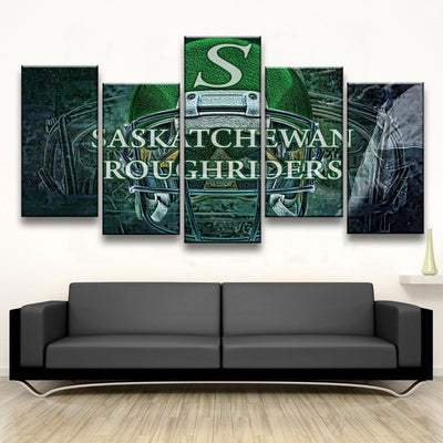 Saskatchewan Roughriders - Amazing Canvas Prints