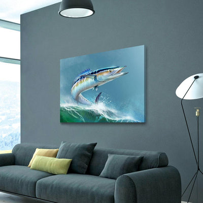 Wahoo Fish - Amazing Canvas Prints