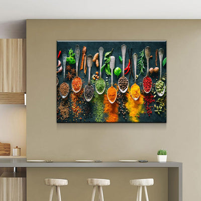 Spices and Herbs - Amazing Canvas Prints