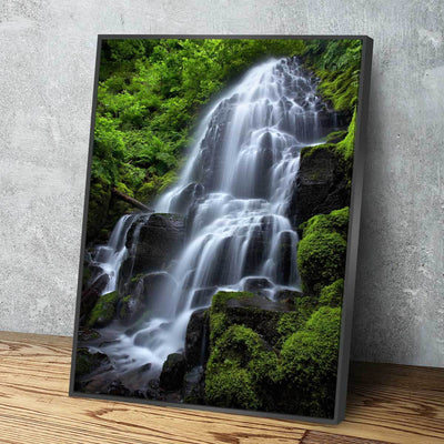 Spring Time At Fairy Falls - Amazing Canvas Prints