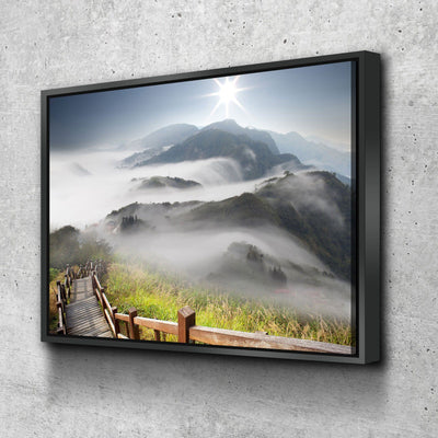 Mountain Stairway - Amazing Canvas Prints