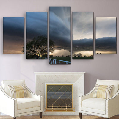 Storm Warning - Amazing Canvas Prints