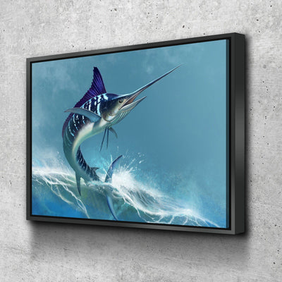Striped Marlin - Amazing Canvas Prints