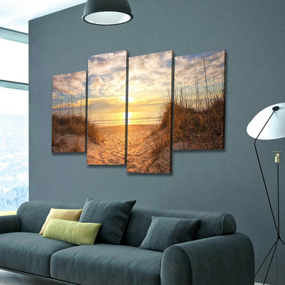 Sunrise at the beach - Amazing Canvas Prints