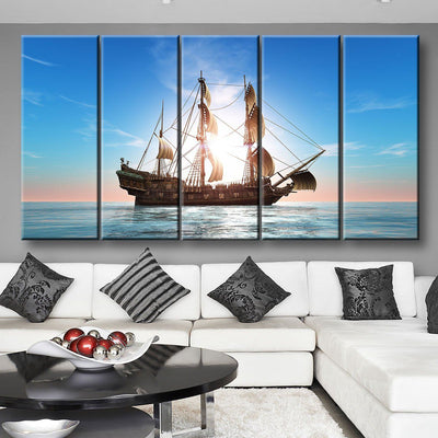Sunset Voyage - Amazing Canvas Prints