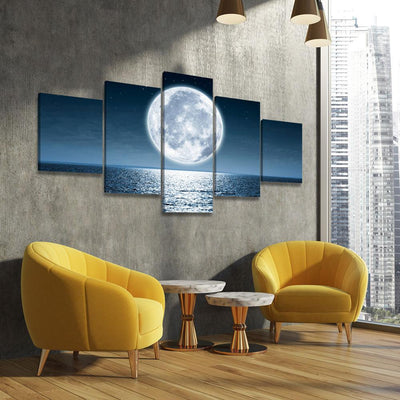 Super Moon Rising - Amazing Canvas Prints