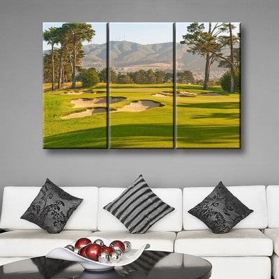 9th Hole - Amazing Canvas Prints