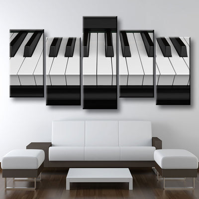 Piano Keys - Amazing Canvas Prints