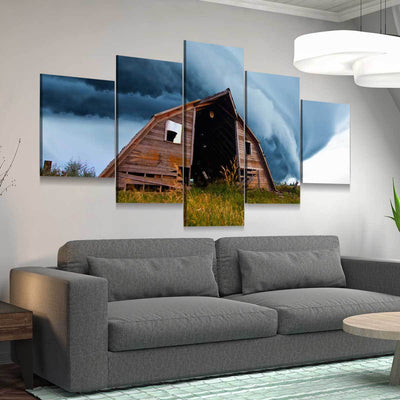 The Approaching Storm - Amazing Canvas Prints