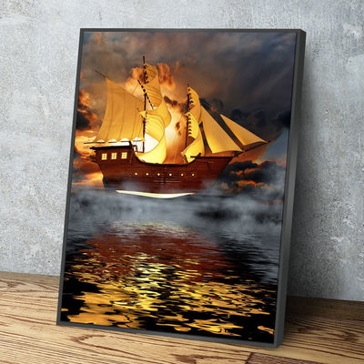 The Flying Dutchman - Amazing Canvas Prints
