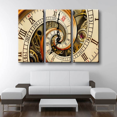 Twisted Time - Amazing Canvas Prints