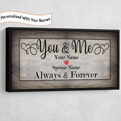 You And Me We Got This Personalized Canvas - Amazing Canvas Prints