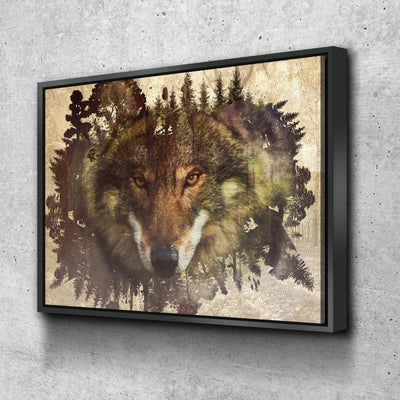 Woodland Wolf - Amazing Canvas Prints