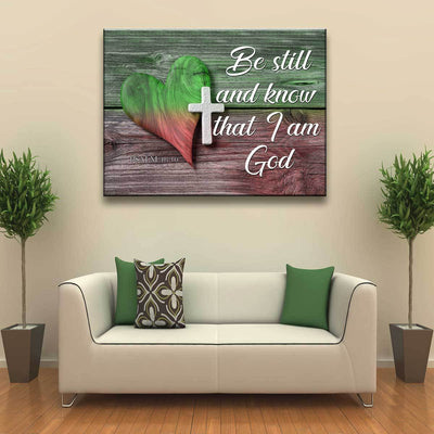 Be Still - Amazing Canvas Prints