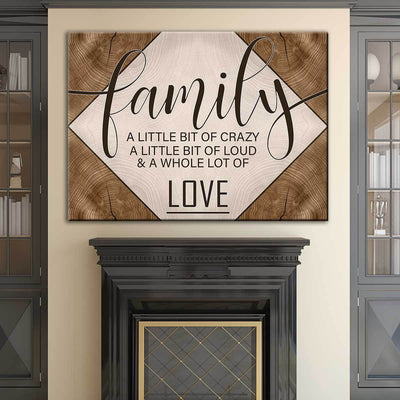 Family Love V3 - Amazing Canvas Prints
