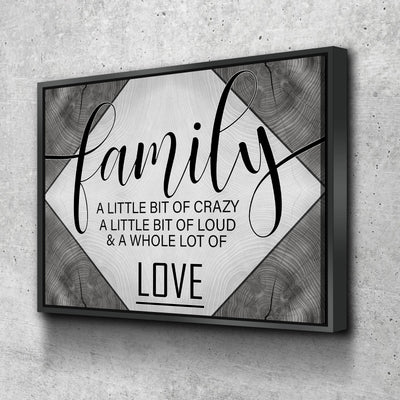 Family Love V2 - Amazing Canvas Prints