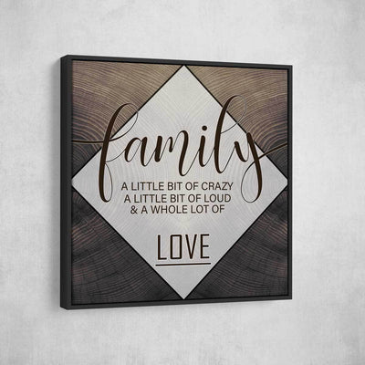 Personalized Family 3pc Canvas Set V1 - Amazing Canvas Prints