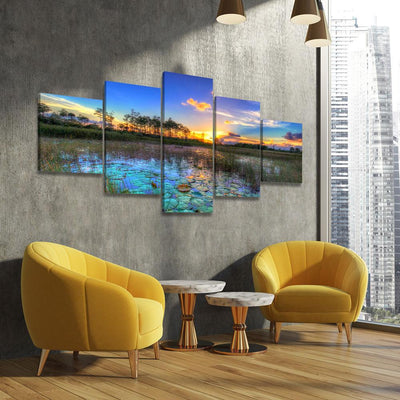 Palm Beach Gardens Sunset - Amazing Canvas Prints