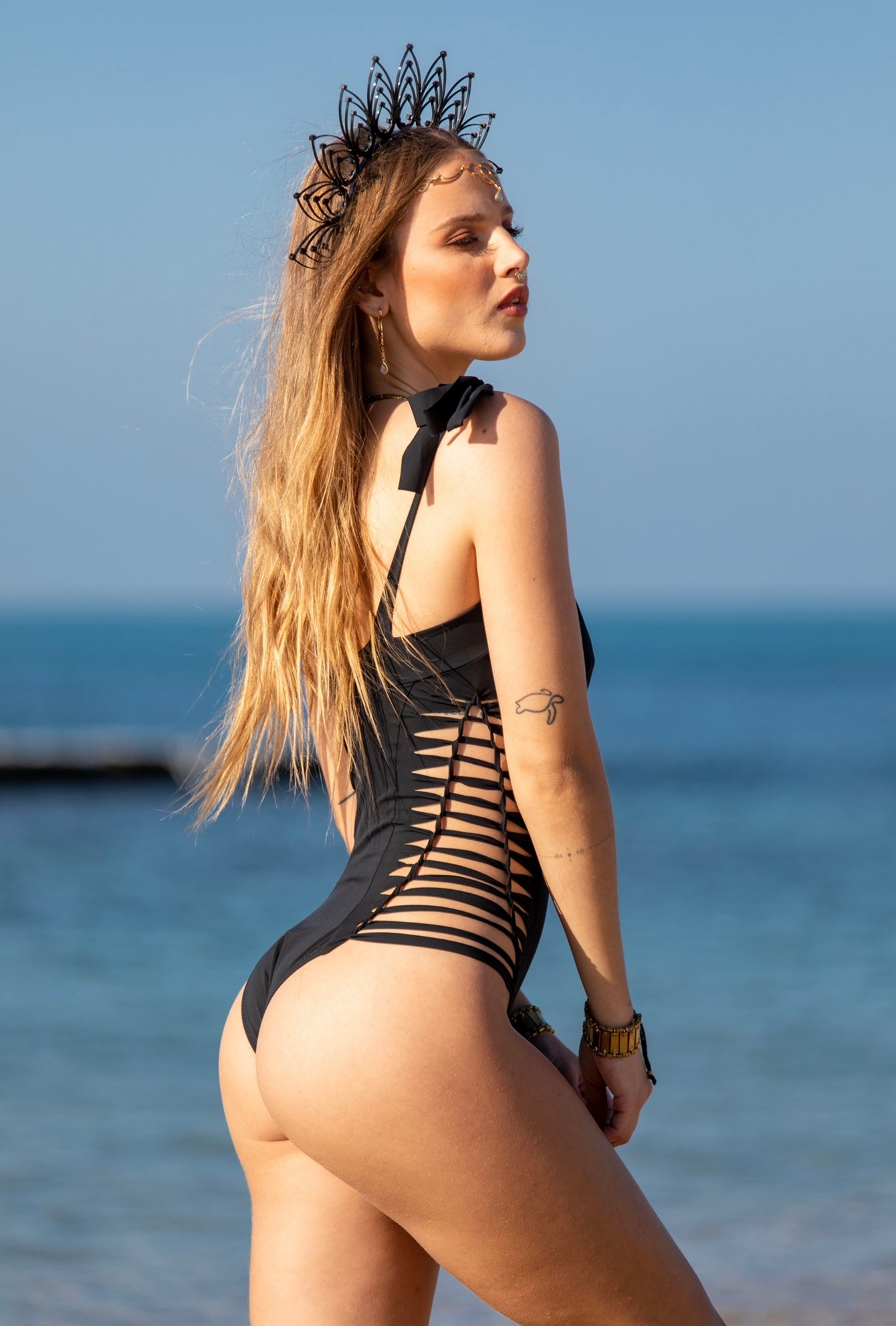 Black One Piece Swimsuit For Women