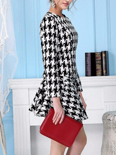 Retro Style Fashion Two Pieces Dress - Young and Trendy