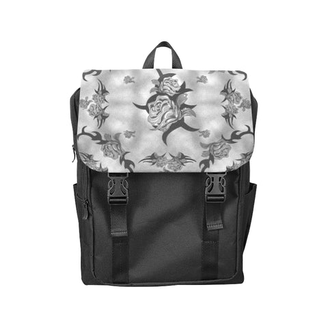Tribal Roses Gothic Art Casual Shoulders Backpack (Model 1623)