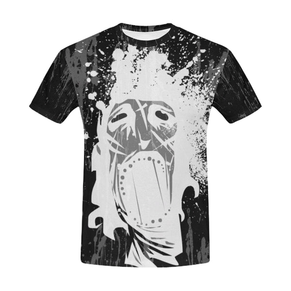 Horror Mask Gothic Art Tee Men's All Over Print T-Shirt (USA Size) (Model T40)