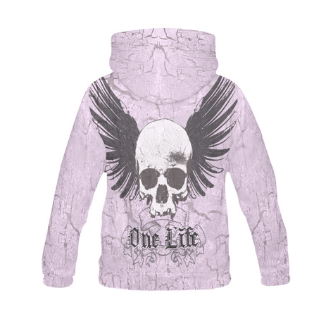 All Over Print Women's Gothic Fantasy Hoodie