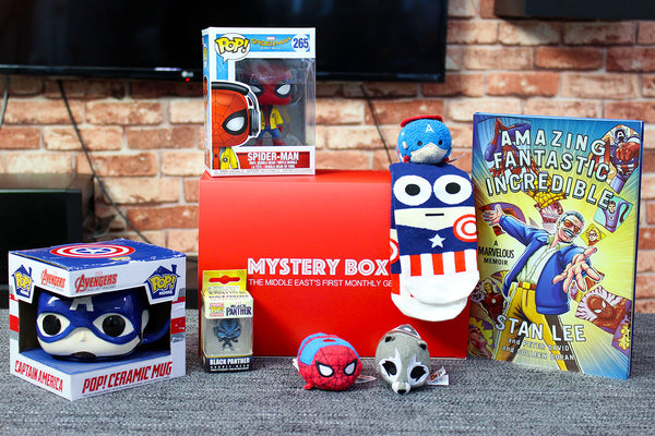 Avengers-Themed Loot Box [Limited Quantities]