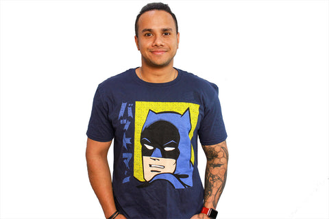 DC Batman Manga T-Shirt