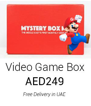 Video Games-Themed Mega Box Edition I with Instant Delivery