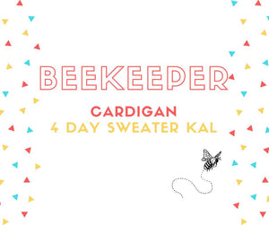 NEW: Beekeeper KAL Sweater Quantity on Cecil DK (80% Merino Wool/10% Cashmere/10% Nylon)