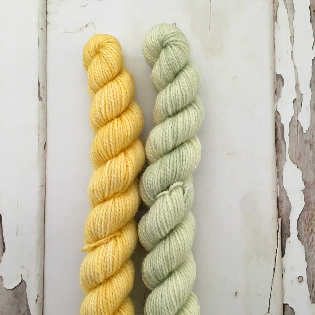 Taffy Twirls --- yellow/ Green
