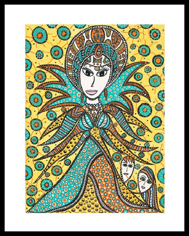 Snedronningen -  signeret giclée-print. Limited edition (The Snow Queen)