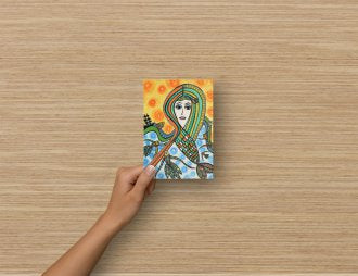 Post card/Greeting card A6 - The Little Mermaid/ Den lille havfrue