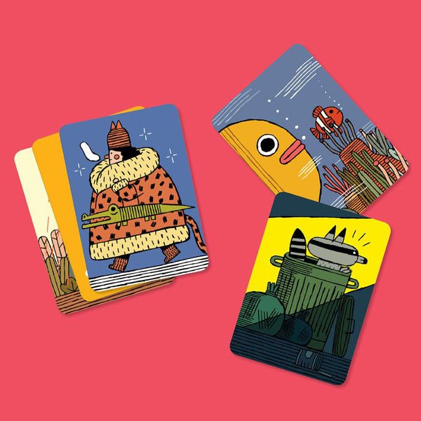 Menaces sur la faune /<br>Informative Cards<br>*FRENCH - Raoul & Simone