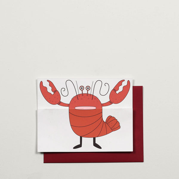 Lobster / Greeting Card - Raoul & Simone