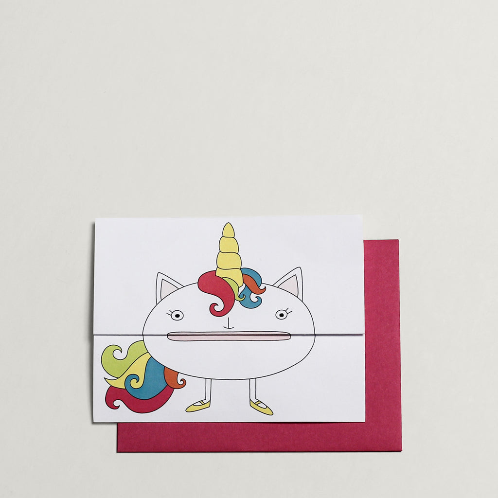 Unicorn / Greeting Card