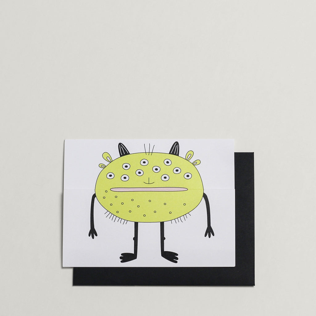 Monster / Greeting Card - Raoul & Simone