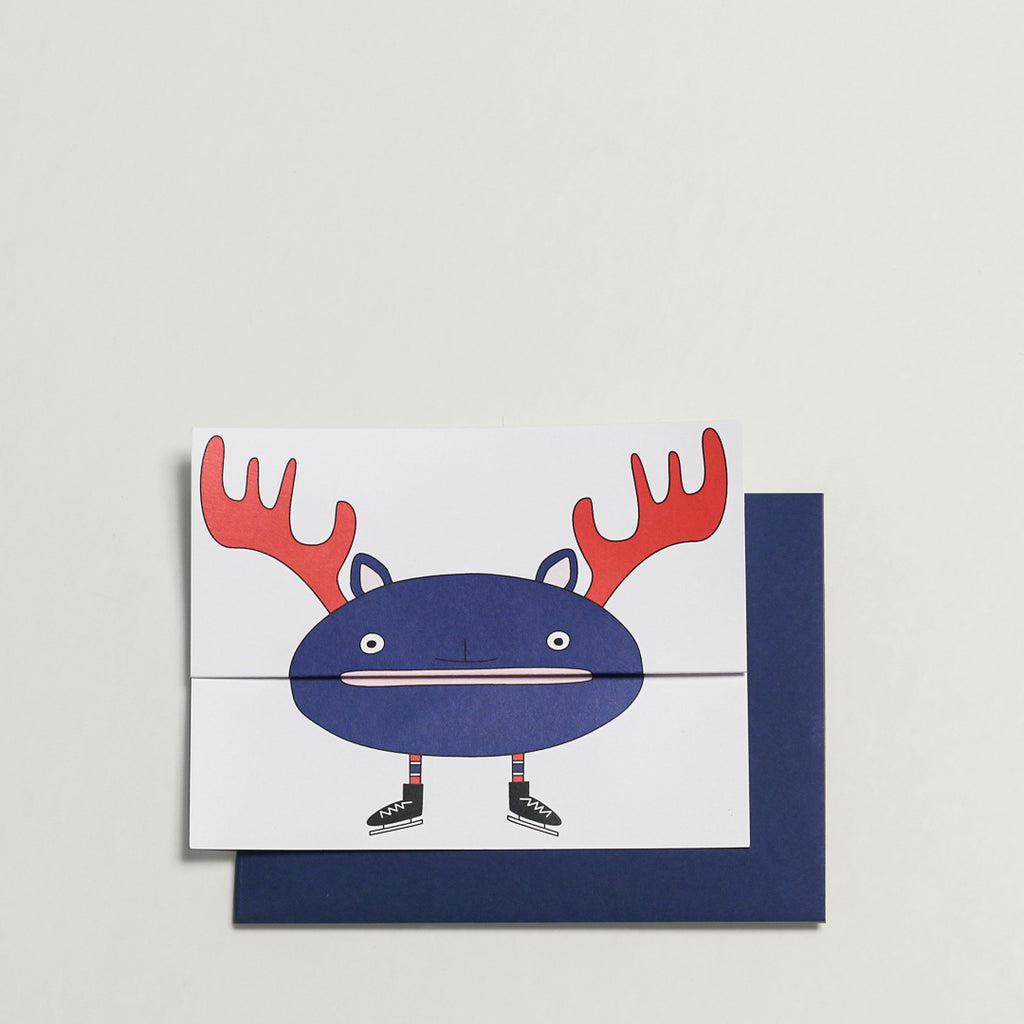 Moose / Greeting Card - Raoul & Simone