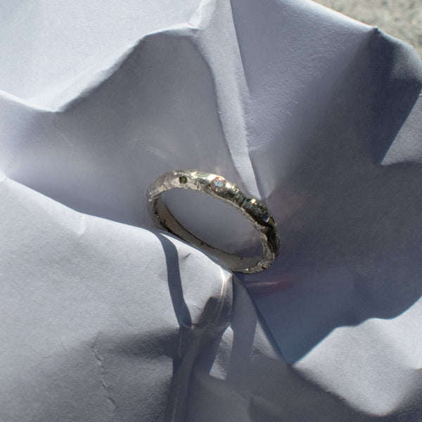 Bespoke by Laura Nelson Made using recycled precious metals