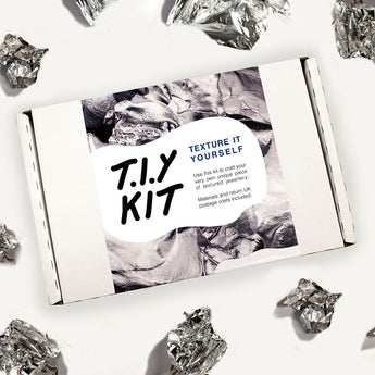 T.I.Y KIT make your own pendant using recycled silver- Laura Nelson