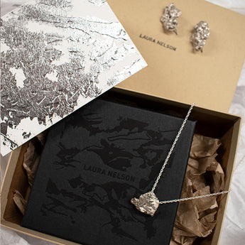 Pulp Gift Box by Laura Nelson - made from recycled precious metals - Christmas gift