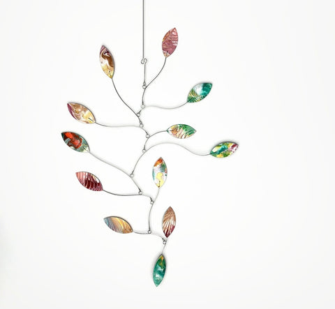 Baby Mobile Kinetic Falling Leaf In Stock Shower Gift