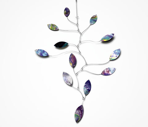 Art Mobile Kinetic Falling Leaf In Stock